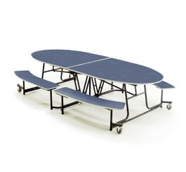 """MOBILE BENCH TABLE  - 10'1"""" x 46"""""""