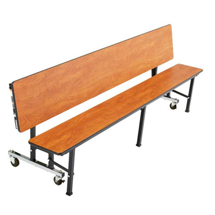 Mobile convertible bench 72 x 29 educator 39 s depot Convertible bench