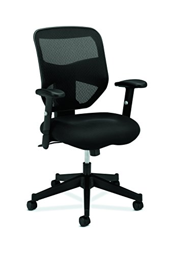 Superb Basyx By HON High Back Work Chair   Mesh Computer Chair For Office Desk,  Black