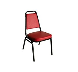 BFM Economy Stacking Chair With 2 Vinyl Seat Model Dc2082-Rd/Bl