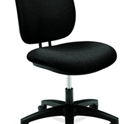 HON 5901AB10T Comfortask Task Swivel Chair, Black