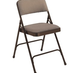 "National Public Seating 2207 Premium Fabric Folding Chair, 2200 Series, 1-1/4"" Foam Seat, 4 Per Cart"