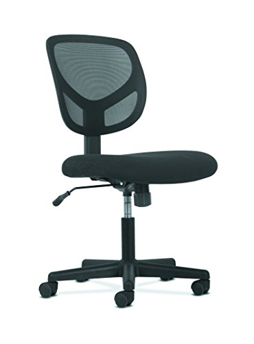 Hon Swivel Mid Back Mesh Task Chair With Arms Ergonomic