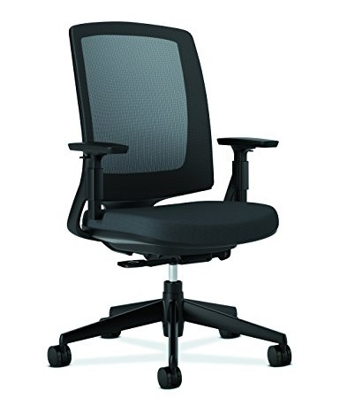 hon lota office chair mid back mesh desk chair or conference room
