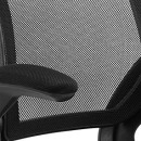 Modway Veer Drafting Chair In Black – Reception Desk Chair – Tall Office Chair For Adjustable Standing Desks – Flip-Up Arm Drafting Table Chair… 5