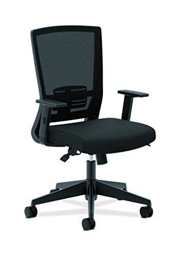 basyx by hon mesh task chair high back work chair with adjustable