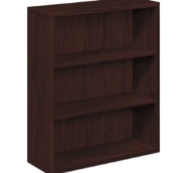 HON 10500 Series Bookcase, Mahogany Finish (H105533.NN)