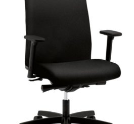 HON Ignition Mid-Back Task Chair, Black Fabric (HIWM3.A.H.U.CU10.T.SB)
