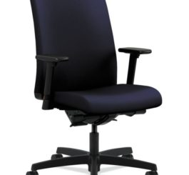 HON Ignition Mid-Back Task Chair, Navy Fabric (HIWM3.A.H.U.CU98.T.SB)