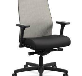 HON Ignition 2.0 Mid-Back Task Chair, Black Fabric (HIWMMKD.Y2.A.H.IF.CU10.NL.SB.T)