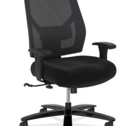 HON Crio High-Back Big And Tall Chair, Black Fabric (HVL585.ES10.T)