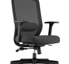 HON Exposure Mesh High-Back Task Chair, Black Fabric (HVL721.LH10)