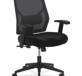 HON Crio High-Back Task Chair, Black Fabric (HVL581.ES10.T)