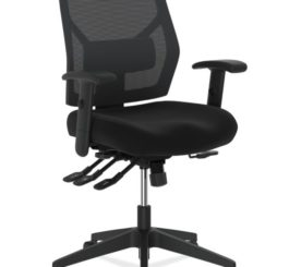 HON Crio High-Back Task Chair, Black Fabric (HVL582.ES10.T)